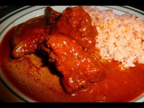 Pork Ribs in Dry Chili Sauce Mexican Style Recipe