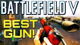 Battlefield 5: Best Gun in the Game! (PS4 Pro Multiplayer Gameplay)