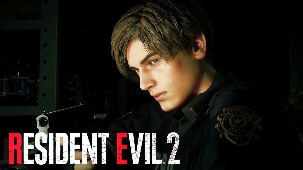 Resident Evil 2 Remake Reveal Trailer Sony E3 2018 Youtube