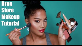 Drug Store Makeup Slay-Torial | MakeupShayla thumbnail