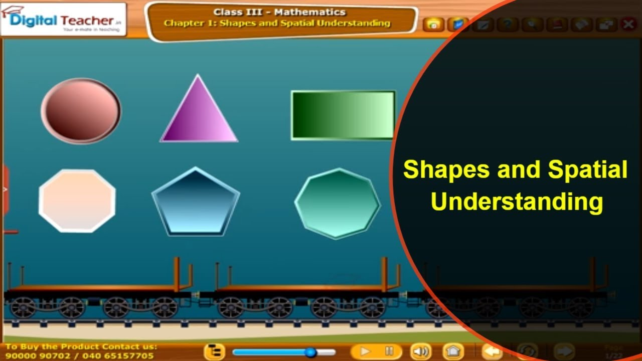 hight resolution of Shapes and Spatial Understanding