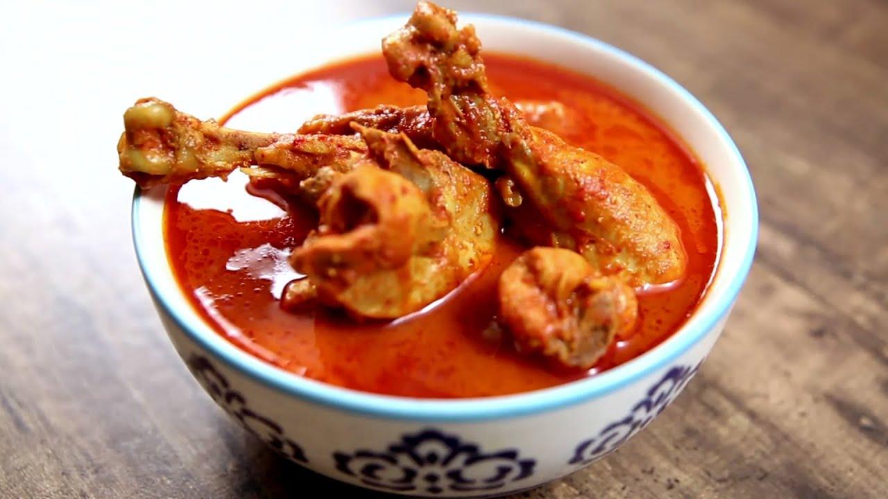 Chicken vindaloo recipe spicy goan chicken curry the bombay chef youtube premium forumfinder Gallery