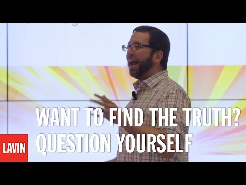 Jordan Ellenberg: Want to Find the Truth? Question Yourself