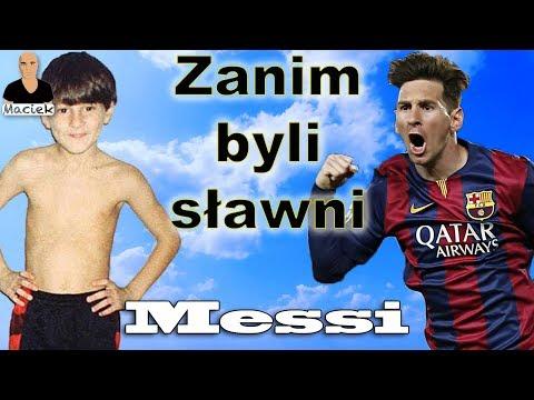 Lionel Messi   Zanim byli sławni