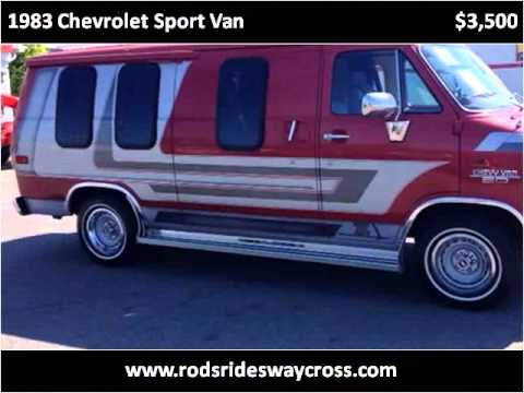 1983 Chevrolet Sport Van Used Cars Waycross GA
