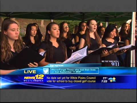 The Ursuline School Honor's Choir - 911 Tribute 2014