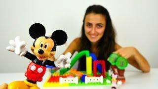 Mini ve Miki Fare için Lego'dan oyun parkı yapıyoruz