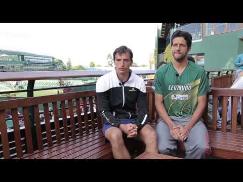 Ivan Dodig And Marcelo Melo Open Up - Wimbledon 2015