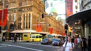 Australia - Sydney Queen Victoria Building And Homeless