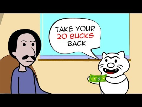 Troll Cat Wants to Borrow 20 Bucks - FUNNY COMICS