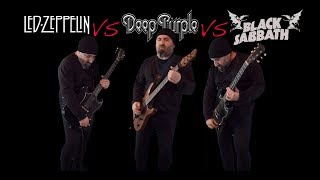 Download Led Zeppelin VS Deep Purple VS Black Sabbath (Guitar Riffs Battle) Mp3 and Videos