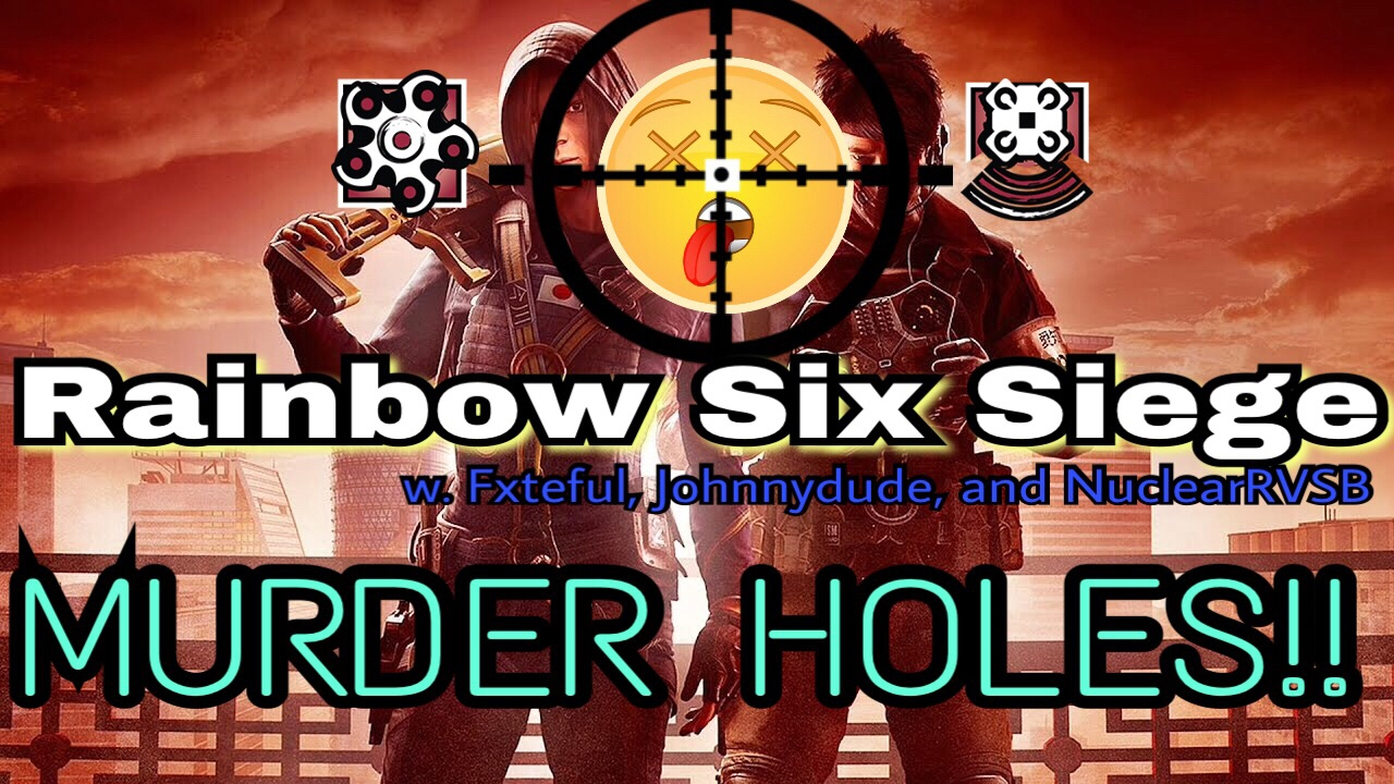 rainbow six siege multiplayer with fxteful johnnydude and. Black Bedroom Furniture Sets. Home Design Ideas