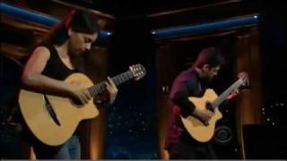 Rodrigo y Gabriela - Buster Voodoo (The Late Late Show With Craig Ferguson)