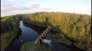 Exploring ACTIVE Water Dam!!(Mini Exploration)