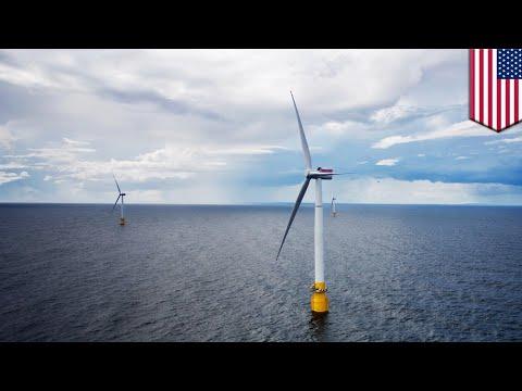 Wind energy: Deep-sea wind farm in Atlantic could meet world's power needs - TomoNews