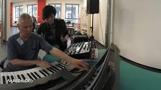Moog Sonic Six & Synthi AKS EMS demo