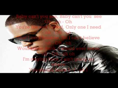 Taio Cruz  No other one  lyrics on Screen