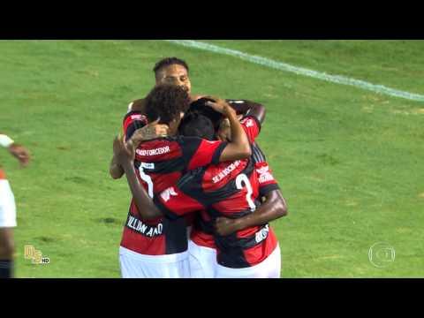 Gols Flamengo 3 x 0 Confiança-SE - Copa do Brasil 2016