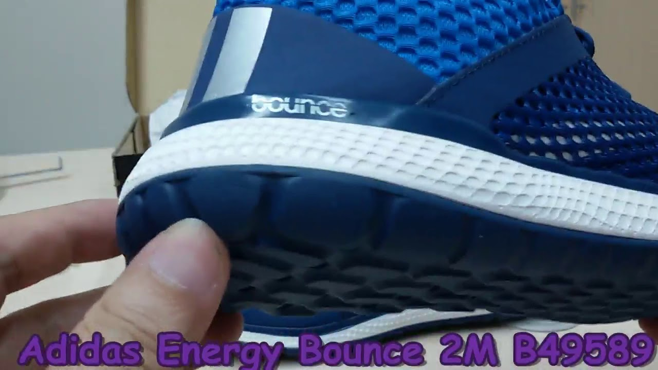 f76a9304aa004 Unboxing Review sneakers Adidas Energy Bounce 2M B49589 - YouTube