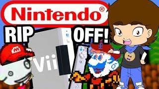 BOOTLEG Nintendo Console RIP OFFS - ConnerTheWaffle