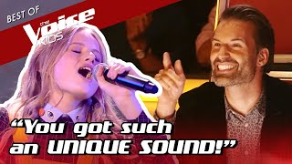 14-Year-Old AMAZES the Coaches with her UNIQUE Sound in The Voice Kids