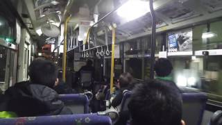 横浜神奈交バスYK1107号車ラストラン放送