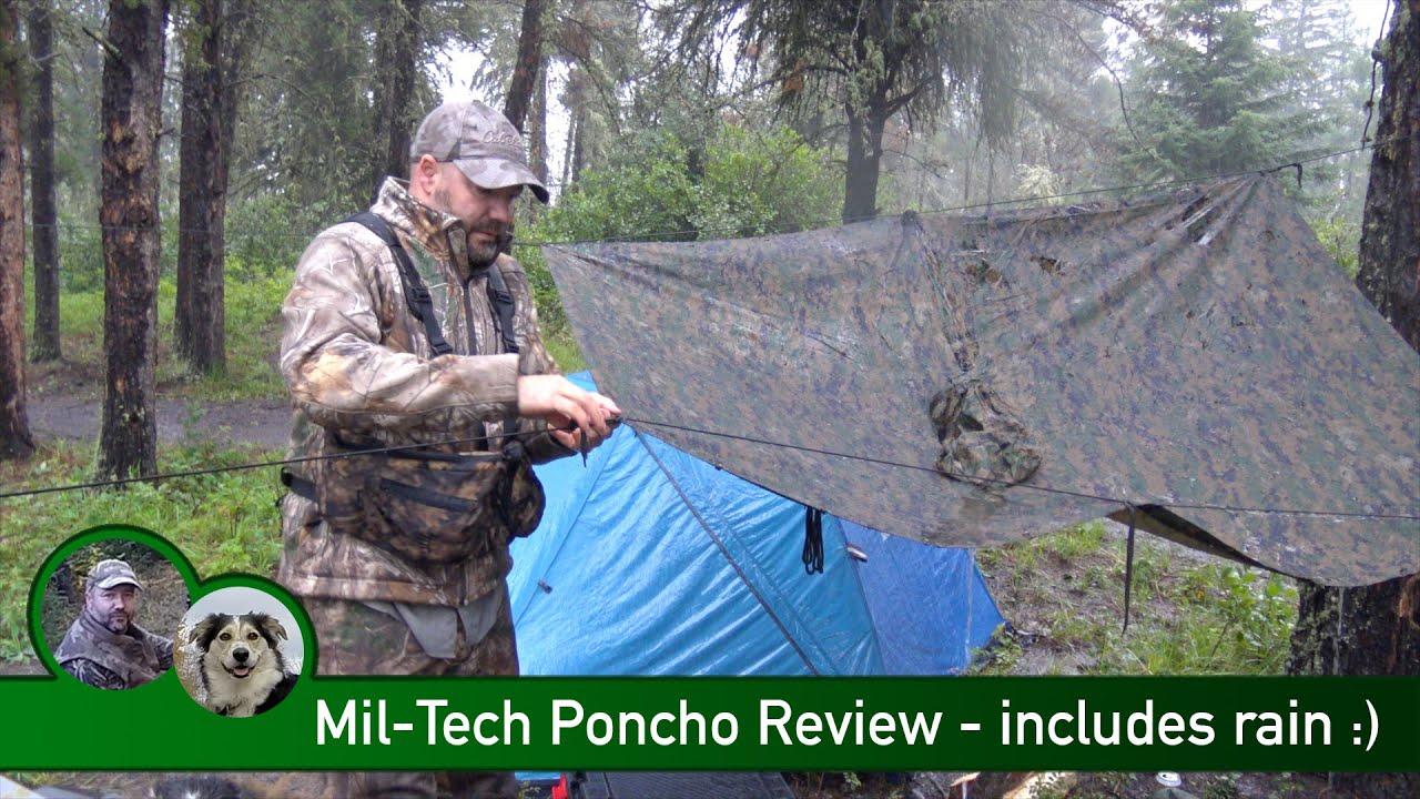Mil-Tec Rip Stop Poncho