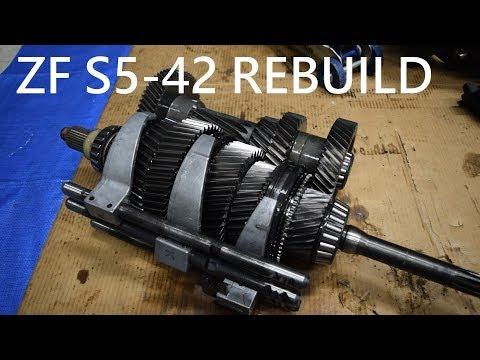 ZF S5-42 Transmission Full Teardown And Rebuild