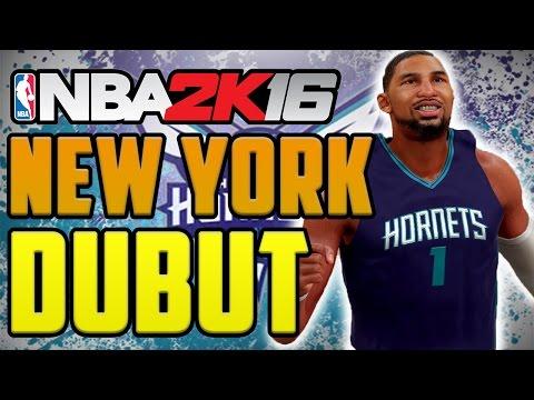 NBA 2K16 My Career Gameplay: 5'7 Point Guard - New York Homecoming [Ep.7] PS4
