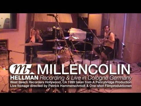 Millencolin - Hellman studio recording & live in Cologne, Germany