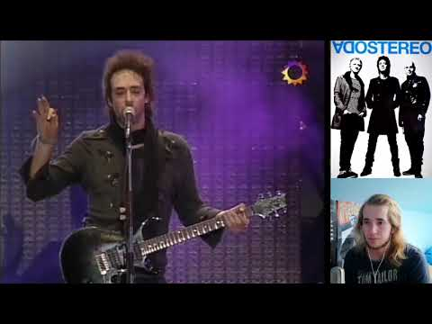 Soda Stereo - De Musica Ligera REACTION!!