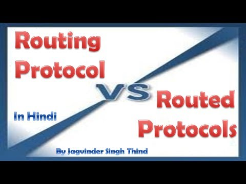 routed vs routing protocols essay Information protocol (rip) model overview a router in the network needs to be able to look at a packet's destination address and then sets the rip protocol to be the routing protocol of all routers in the network b.