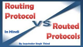 Routing Protocols Vs Routed Protocols - Routing Part 7