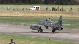 Messerschmitt Me-262 and  Mikoyan-Gurevich MiG MiG-15