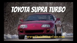 "Toyota Supra Turbo - ""Chris Drives Cars"" Video Test Drive Throwback"