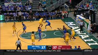 Men's Basketball: USC 89, Middle Tennessee 84 - Highlights 12/23/17