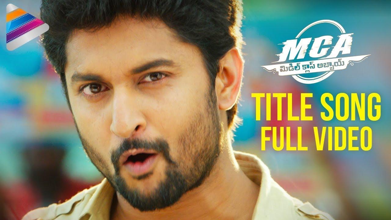 Mca Latest Telugu Movie Songs Mca Title Song Nani Sai Pallavi
