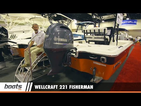 Wellcraft 221 Fisherman: First Look Video