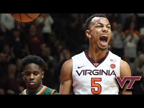 VT's Justin Robinson Reaching New Heights