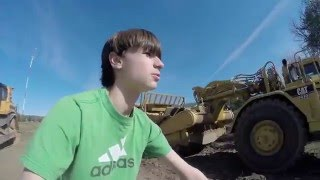 Lets Go look At Some Road Construction Equipment! Highway Construction Vlog 2