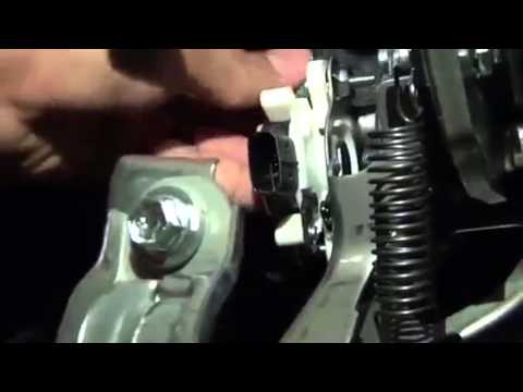 16 Install The Brake Pedal Stroke Sensor Youtube