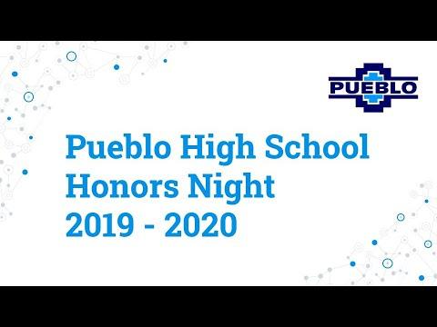 Pueblo High School - Honors Ceremony 2020