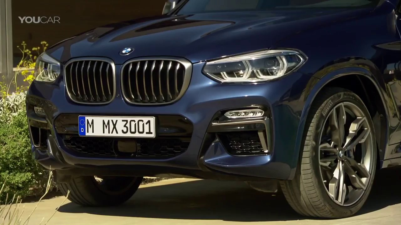 Bmw X3 2017 Interior >> BMW X3 (2018) Interior, Design, Driving [YOUCAR] - YouTube