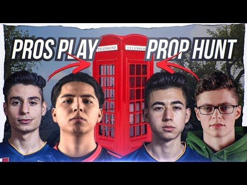 COD PROP HUNT CHOKE BY PRO PLAYERS!