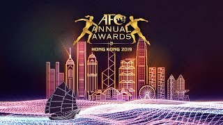 LIVE : AFC ANNUAL AWARDS HONG KONG 2019
