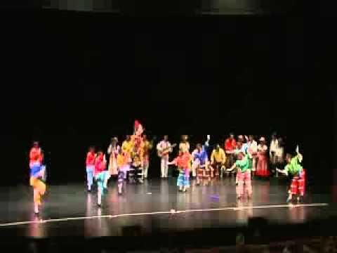SonDeLosDiablos-De Rompe y Raja Cultural Association EthnicDanceFestival Auditon 2009.flv