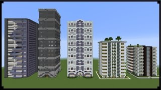 Minecraft How To Make  SKY SCRAPERS