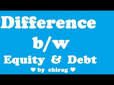 Differnce between equity and debt,ca inter, financial management,new syllabus,may 18,nov 19,chirag,f