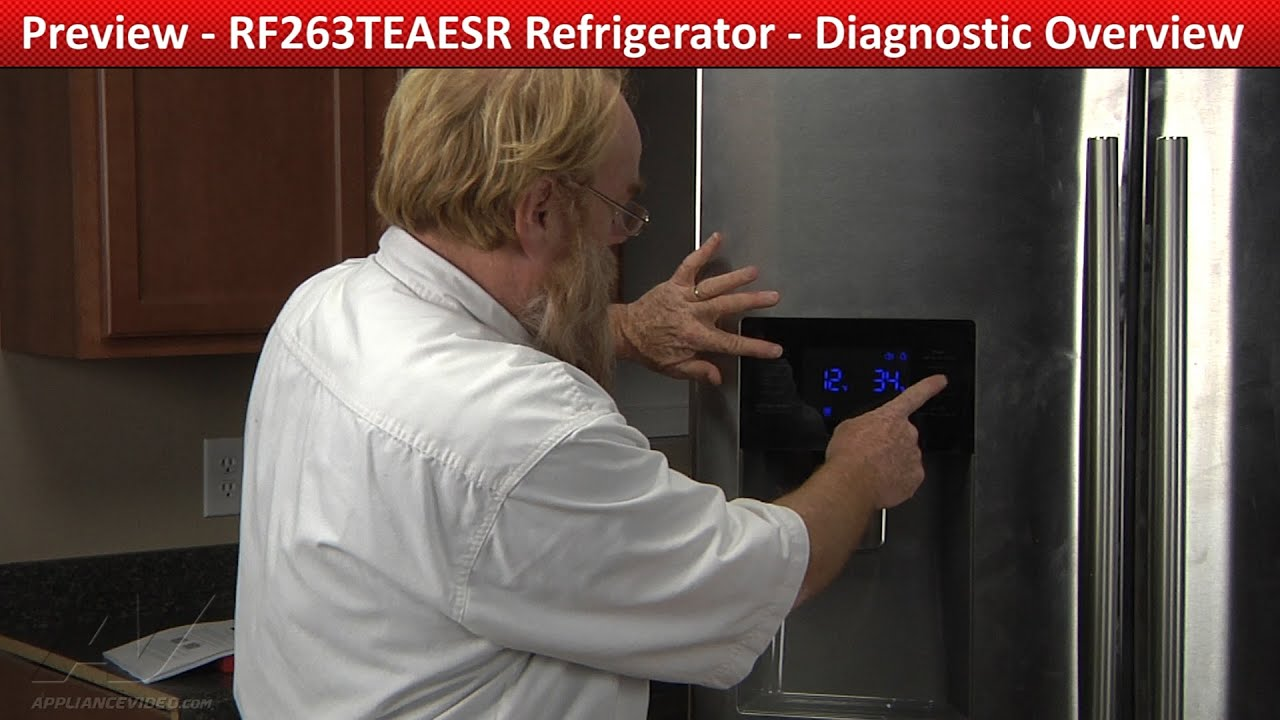 Diagnostic Overview Amp Repair Samsung Refrigerator Youtube