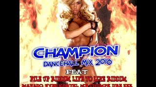 DJ KENNY CHAMPION DANCEHALL MIX APR 2016